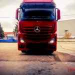 mercedes actros red