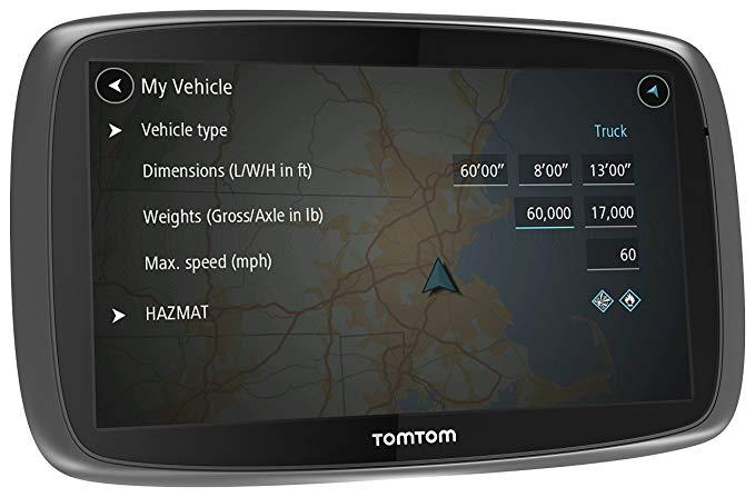 TomTom trucker 600