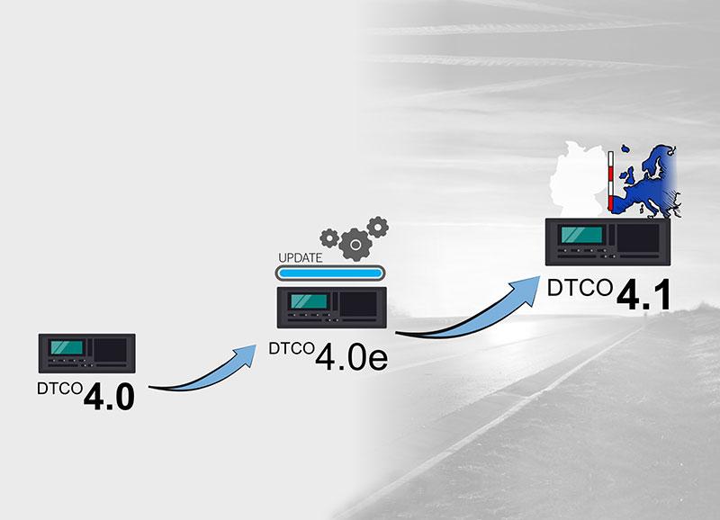 ταχογράφος DTCO 4.1 evolution